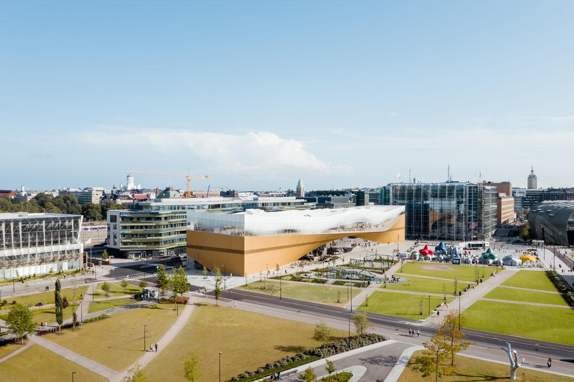 ALA Architects  20190813 Helsinki Central Library Oodi