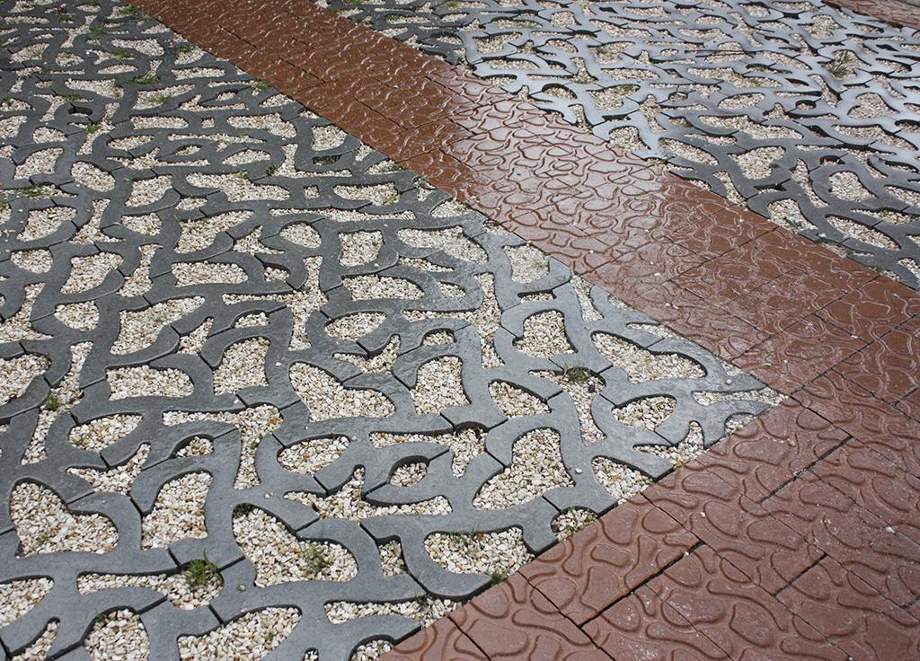Rainaway-Parkeervakken-Houten
