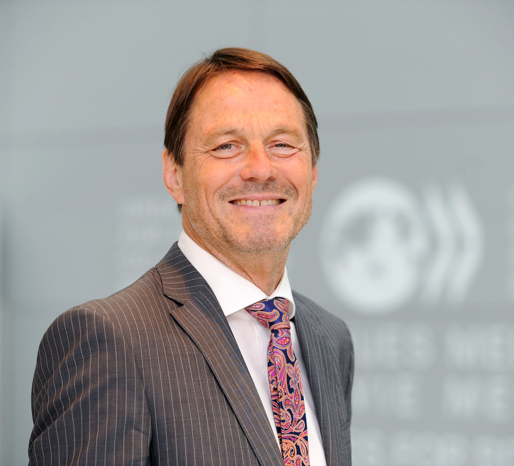 Portrait/headshot;  Ralf Alter, Director, GOV, OECD.