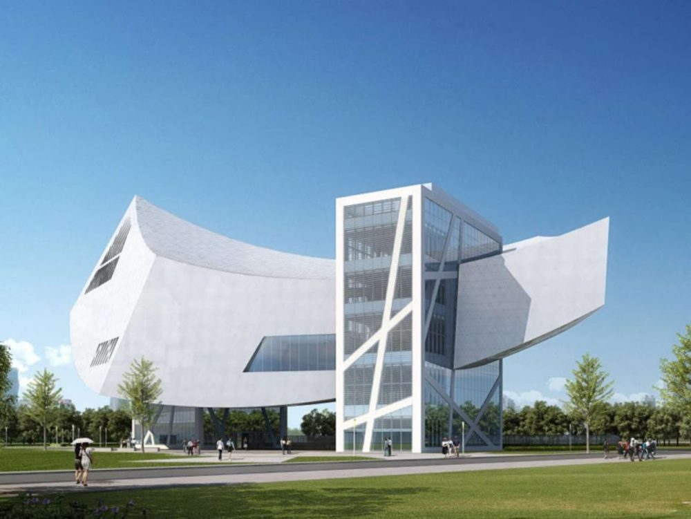 ZHANG ZHIDONG AND MODERN INDUSTRIAL MUSEUM BY DANIEL LIBESKIND01