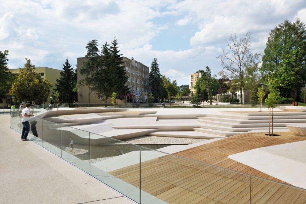 ENOTA . Promenada – City Center Pedestrian Zone . Velenje (2)