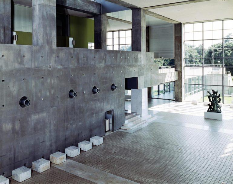 05, Entrance hall, the Museum of Modern Art, Gunma (1974), Yasuhiro ISHIMOTO-2