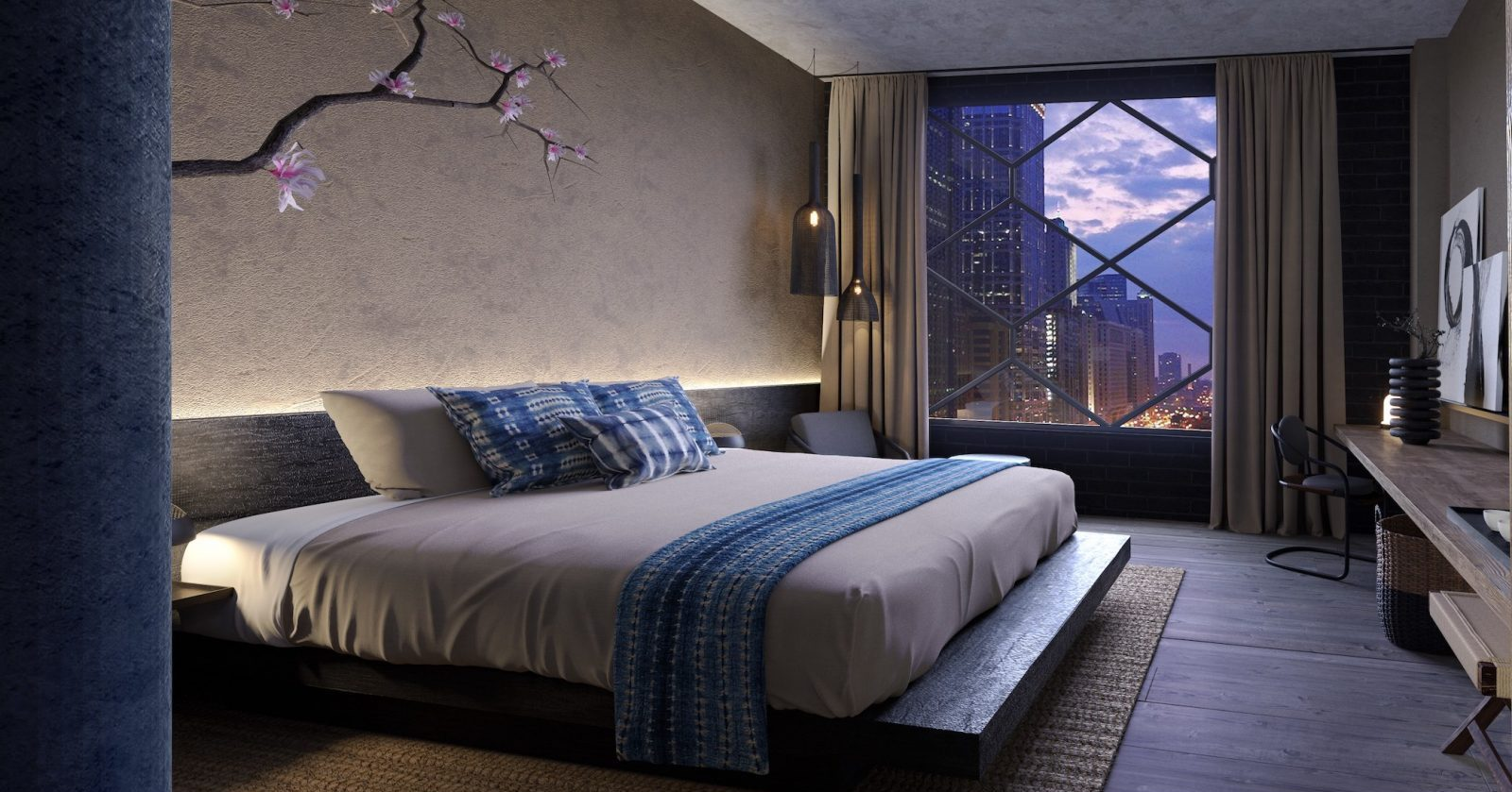 Nobu-Chicago-Guestroom