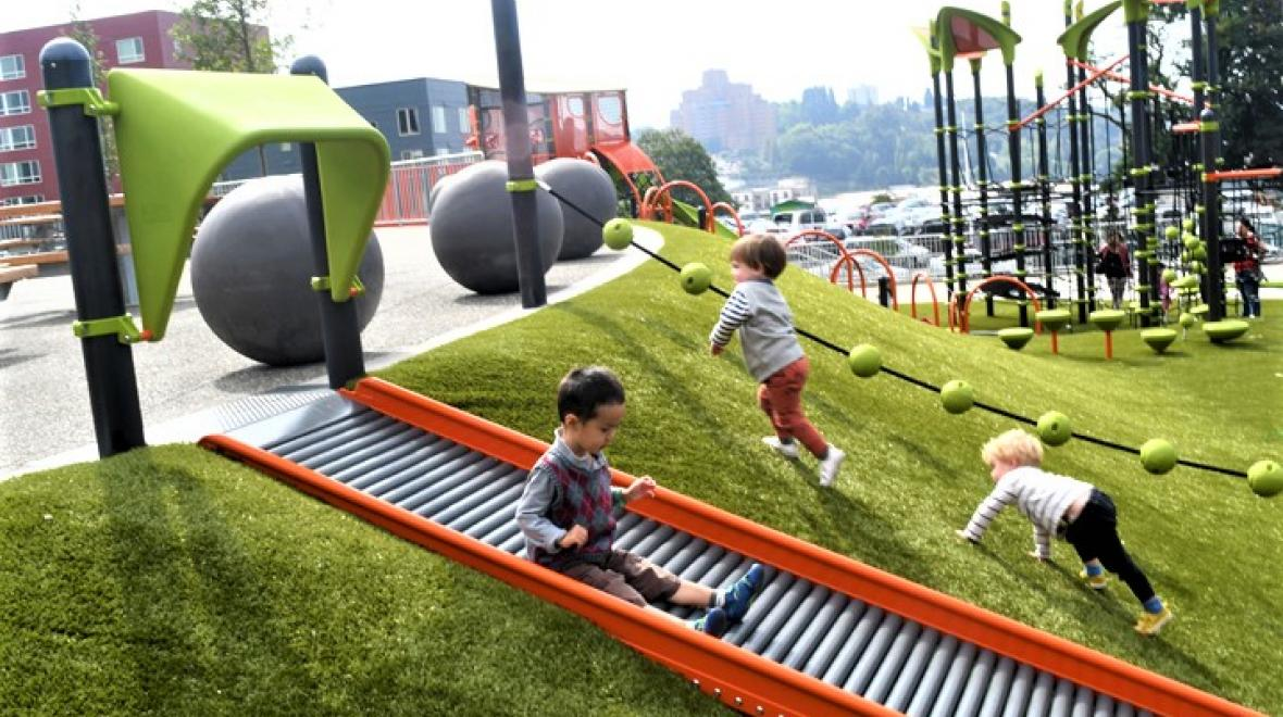 Yesler Terrace Park slide credit JiaYing Grygiel