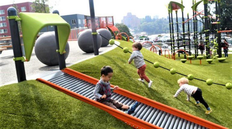Yesler Terrace Park slide credit JiaYing Grygiel