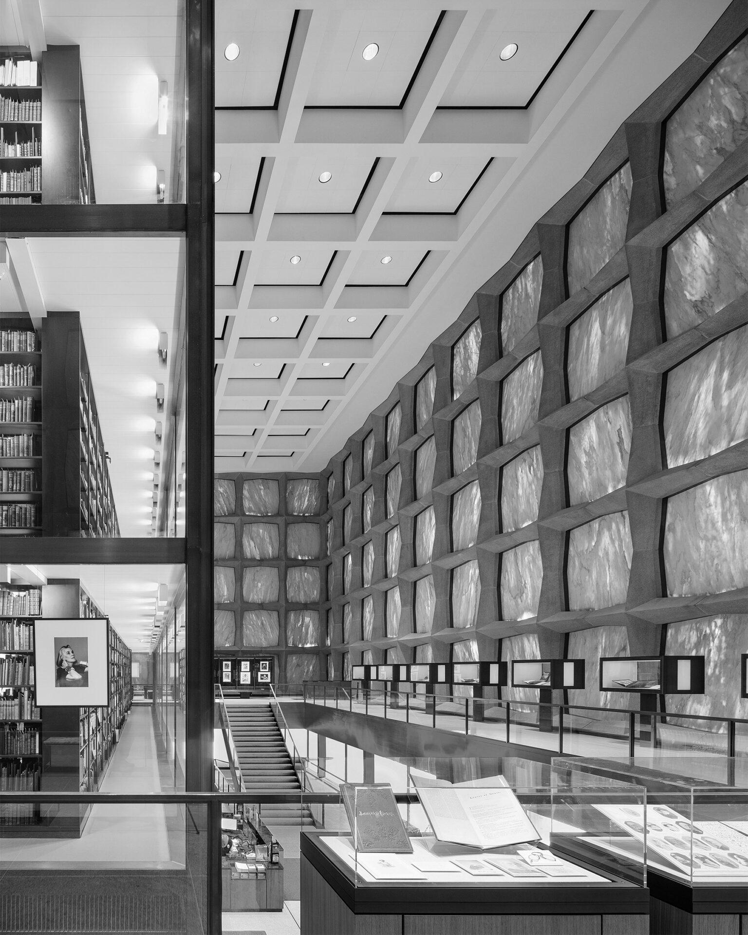 Yale University, Beinecke Rare Book & Manuscript Library | New Haven, CT | SOM, Gordon Bunshaft